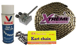 Go Kart Chain and Accessories