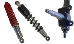 Go Kart Shocks and Mounting Hardware