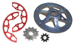 Go Kart Sprockets, Hubs and Guards