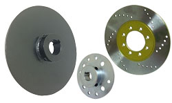 Go Kart Brake Rotors, Discs, and Hubs