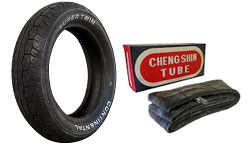 Vintage Motorcycle Tires and Inner Tubes