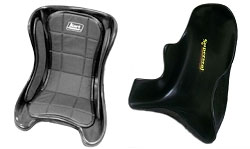 Racing Go Kart Seats and Hardware