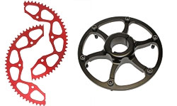 Racing Go Kart Sprockets, Hubs, and Guards