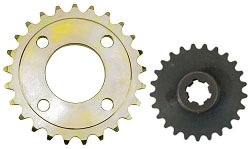 Sprockets for Chinese Karts, ATVs, and Minibikes