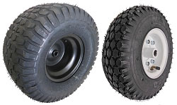 Go Kart Tire and Rim Assemblies