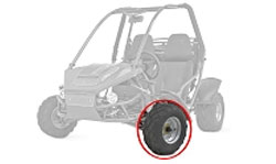 Go Kart Replacement Tires for Off-Road Karts