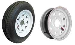 Go Kart Trailer Rims, Wheels, & Tires