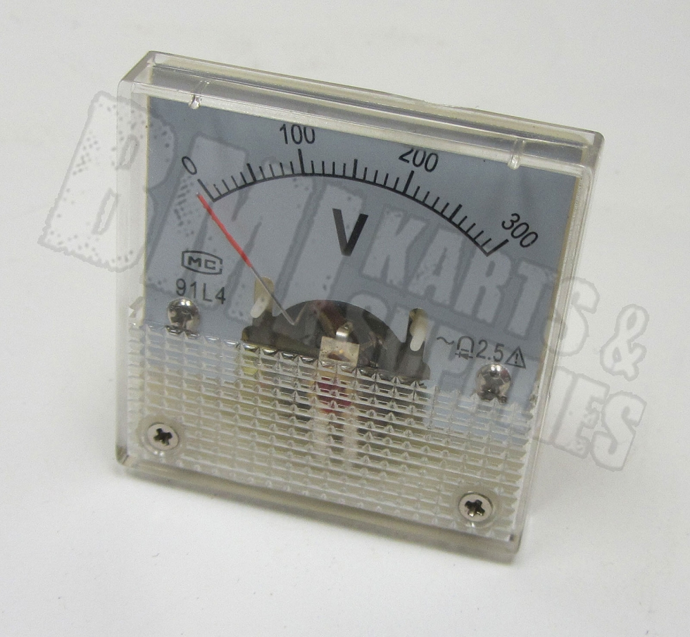 Analog Volt Panel Meter Gauge AC 0~300V