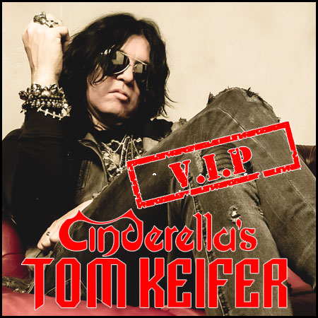 Tom Keifer Package (10/12/19) - *MUST PURCHASE TICKET SEPARATELY*