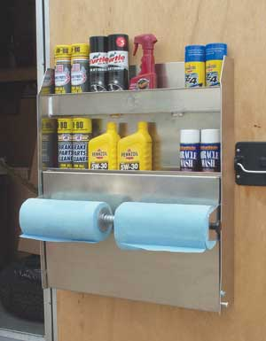 Inspirational Enclosed Trailer Cabinets Accessories