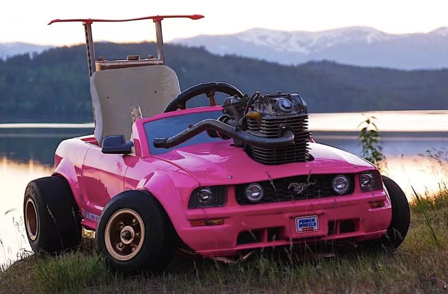Barbie Car Go-Kart Can Reach 70 MPH!