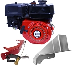 Ducar 212cc OHV Clone Engine w/ Chainguard & Throttle Kit