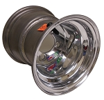 8 x 8 Douglas Alumilite Polished .125 Golf Cart Wheel