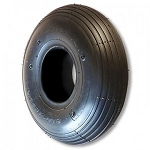 10 x 3.00-4 Ribbed Round Profile Tire