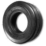 16 x 6.50-8 Ribbed Tire Flat Profile