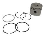 Low Compression Piston Kit with Rings, Pin & Locks for Harley-Davidson Big Twins 74