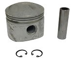 Piston with Pin for Harley-Davidson Shovelhead 80 cu in (Low Compression)