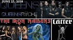 Queensryche with special guest The Iron Maidens & Latter