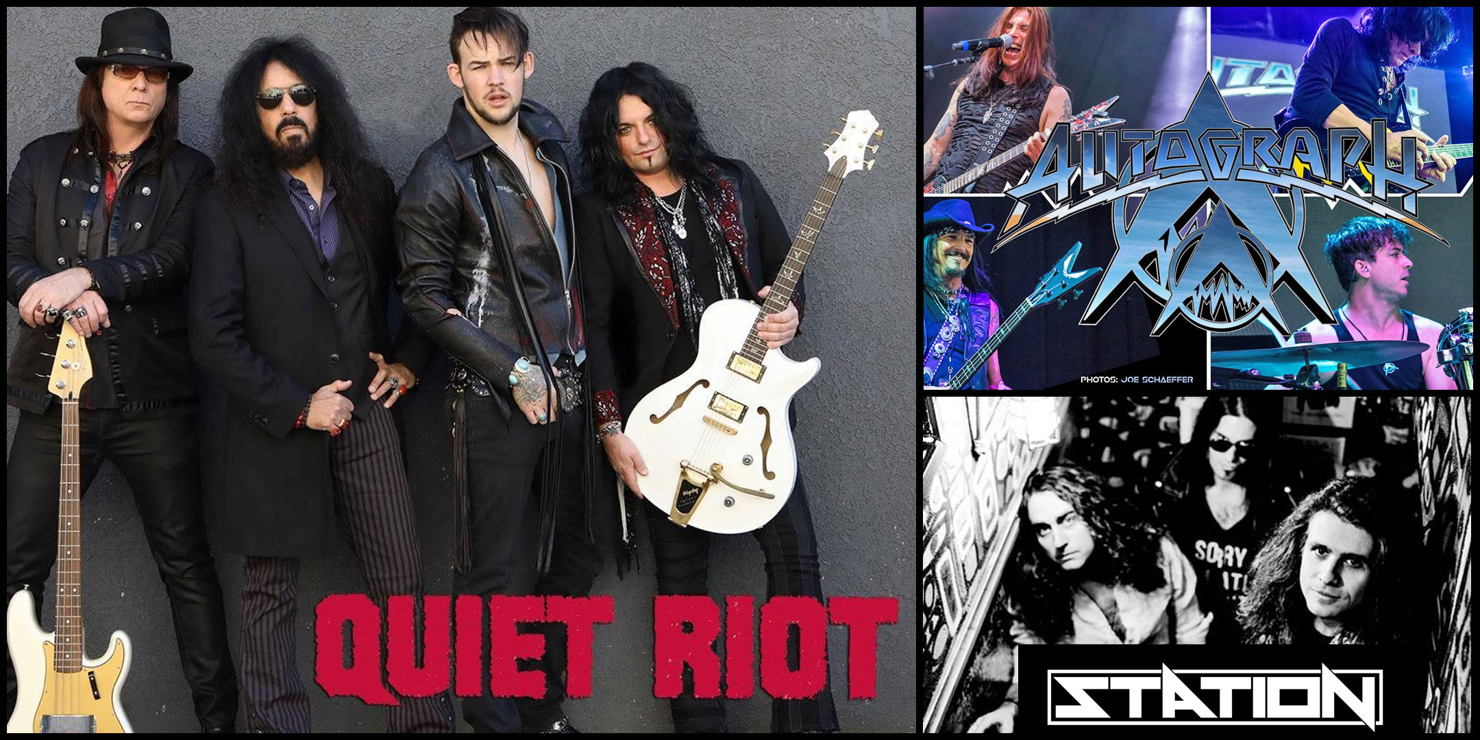 Quiet Riot with special guest Autograph and Station