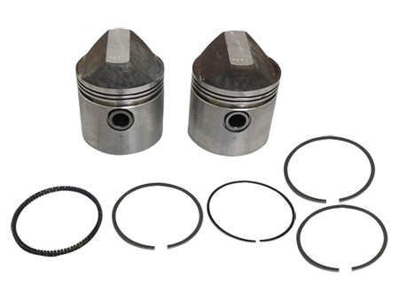 TRW Forged Piston Set For 900cc Harley-Davidson Sportster (1957-71)