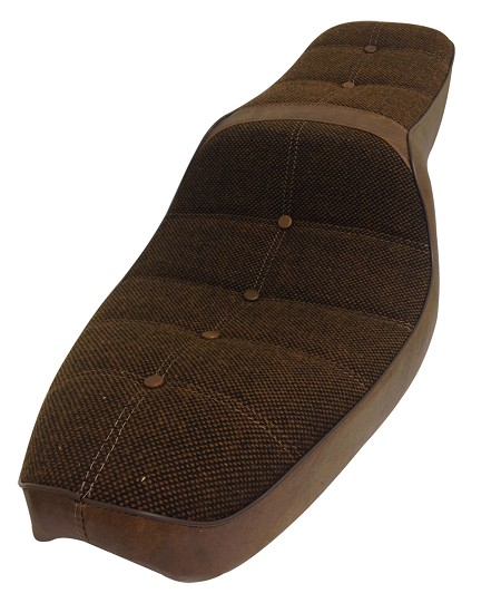 Genuine Harley-Davidson Seat - Brown for Sportster XL (1979-1981)