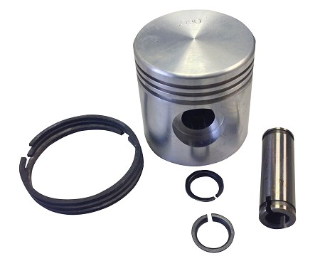 Complete Piston with Rings for Harley-Davidson 45s, WLA and Servi-Cars