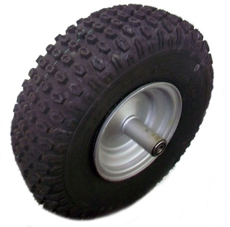20 x 7-8 Knobby Tire with Rim for Mini Bike (Front)