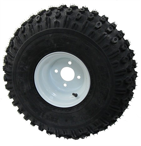 22 x 11-8 Knobby Tire with Rim (4 on 4)