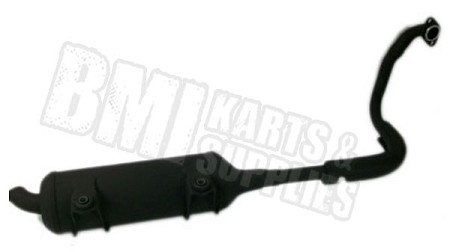 Exhaust Pipe Assembly for CUVs