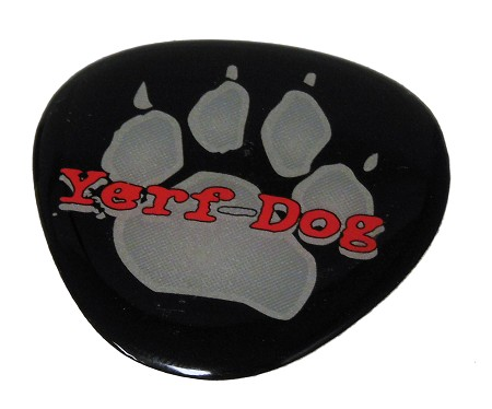 Yerf-Dog Logo Decal / Sticker