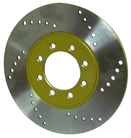 "8"" Brake Rotor (Gold or Black)"