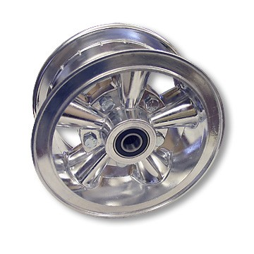 "6"" Astro Aluminum Wheel, 3"" wide, 5/8"" ID Bearing"