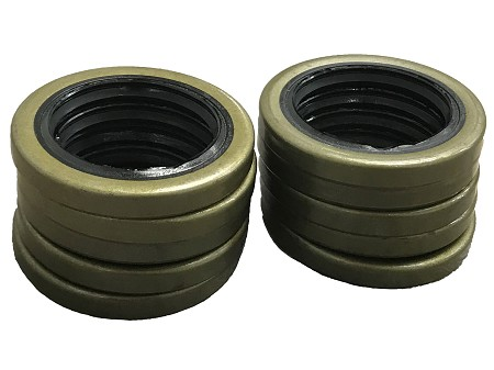Oil Seal For 1970+ Harley Big Twins - Set of 10