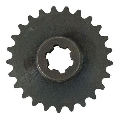 #25 - 25 Tooth Front Sprocket for Chinese Pocket Bikes, Scooters, Mini Choppers