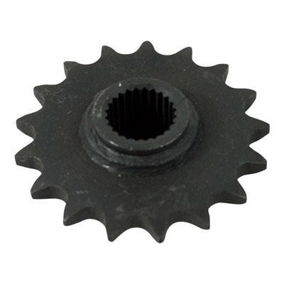 #530 - 17 Tooth Front Sprocket for Chinese ATV's - 24 Spline