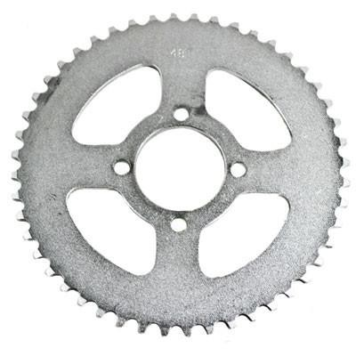 #420 - 48T Rear Sprocket for Chinese ATV's - 52mm Center Hole