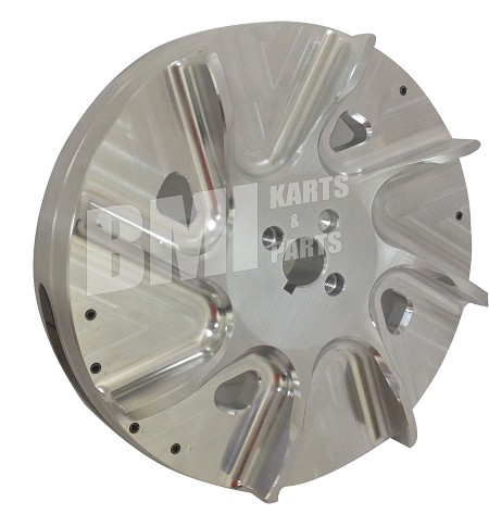 Billet Aluminum Flywheel for 196cc, 212cc Tillotson, & Honda GX200
