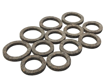 Pushrod Cork Gasket Seals Kit for Harley-Davidson (12 pieces)