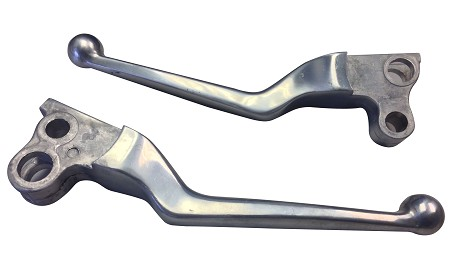 "Brake & Clutch ""Power Lever"" Set For Harley-Davidson Motorcycles (1982-91)"
