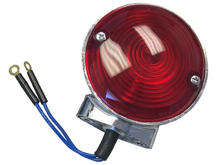 1M71 Double Contact Light - Red 12 Volt