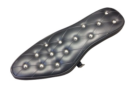 Selle Giuliari Cobra Seat with Bracket (Black/Studded)