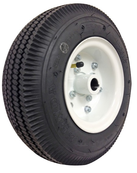 "4.10/3.50 Sawtooth Tire with Split Rim (1"" Bore) - Rear"