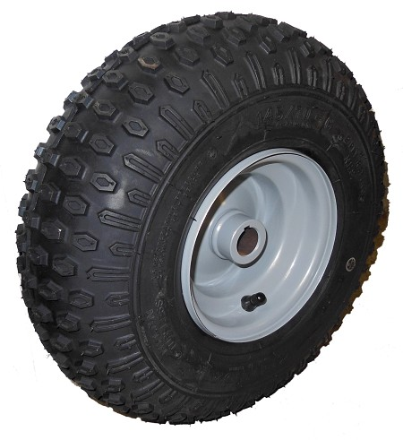 "145/70-6 Kenda Tire with Rim (1"" Bore) - Gray"