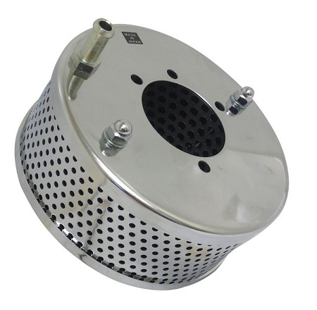 Chrome Air Cleaner/Filter for Harley-Davidson (Vent Tube)