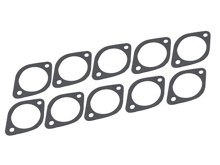 Set of 10: Shift Shaft Cover Gaskets For Late Harley-Davidson 4 Speed Big Twins