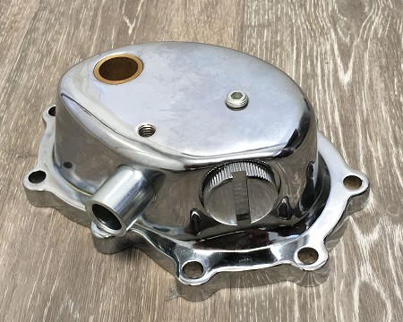Chrome Kick Starter Cover for Harley-Davidson Big Twins (1936 and Later)