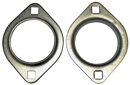"2 Hole Bearing Flangettes (1"" or 1-1/4"")"