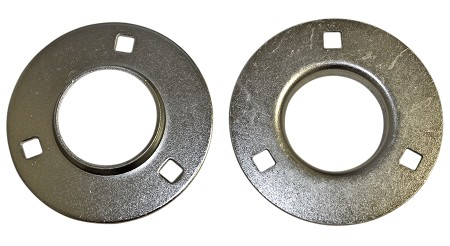 "3 Hole Flangettes for 1/2"" or 5/8"" ID Bearing"