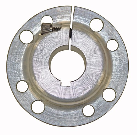 "Multi-Patterned Aluminum Sprocket Hub (1"" or 1-1/4"" Bore)"