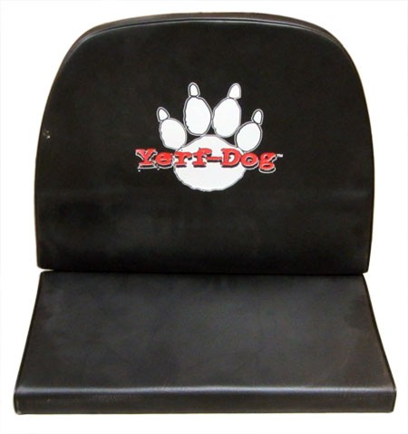 Black Double Vinyl Yerf-Dog High Back Seat